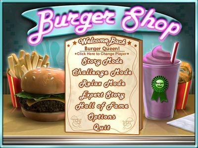 burger shop online spielen