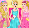 Blonde Princess Prom Shopping