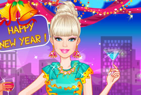 Barbie New Years Eve