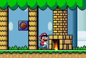 Mario Return To Dinosaur Land