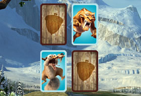 Ice Age Matching Cards