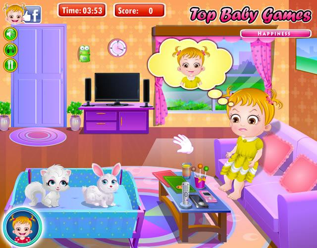 kostenlose baby hazel spiele