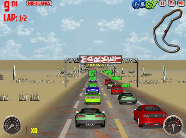 spiele v8 muscle cars 2 - kostenlose online spiele bei hierspielen