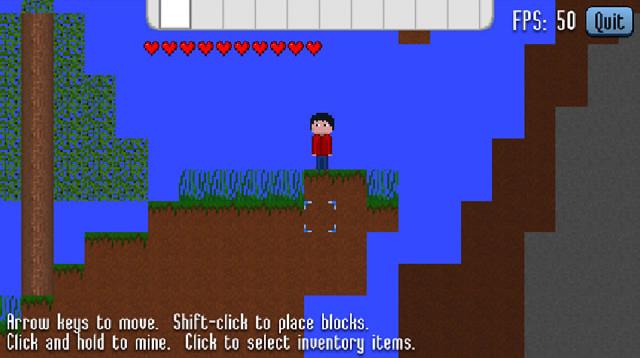 mine blocks spielen