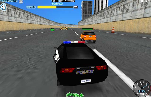Polizei Spiele 3d