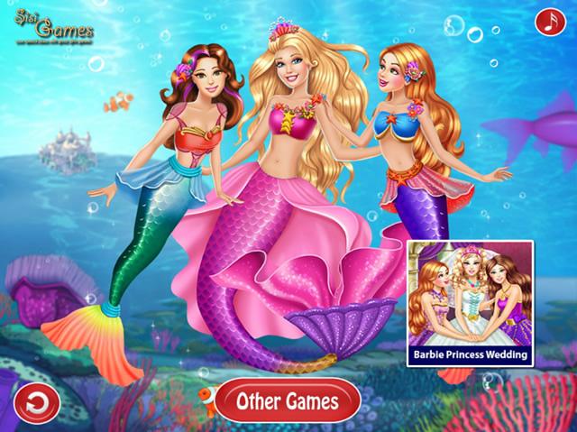 mermaid spiele