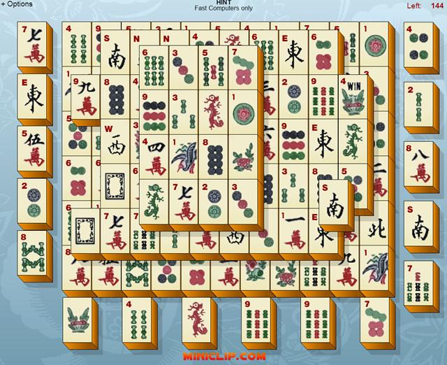 Mahjongg Denkspiele