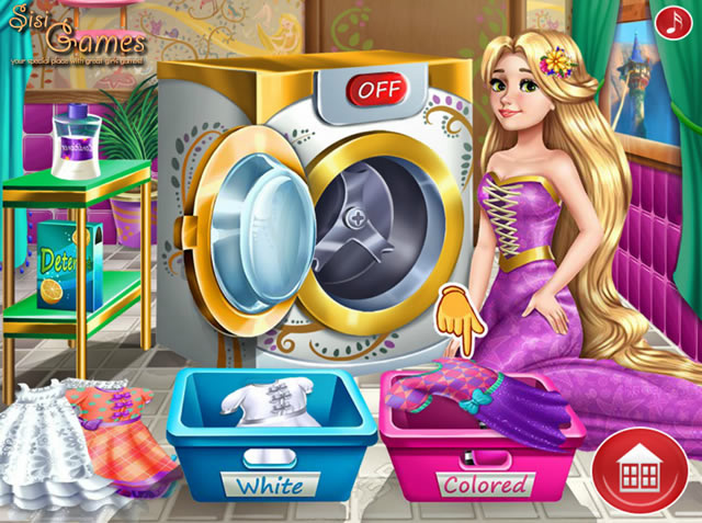 spiele rapunzel laundry day kostenlose online spiele bei. Black Bedroom Furniture Sets. Home Design Ideas