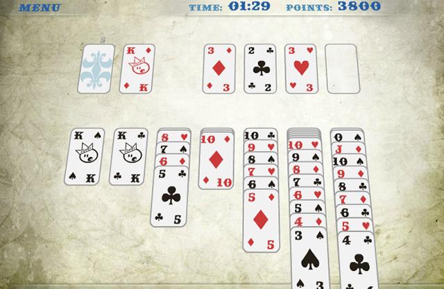 klondike solitaire kostenlos spielen