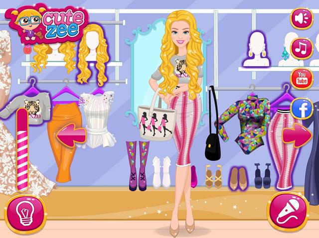 barbie zum spielen