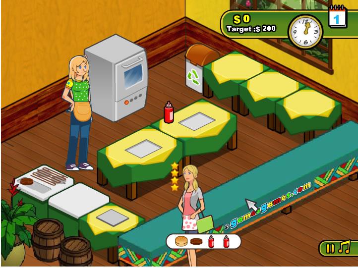 Burger Restaurant Spiele