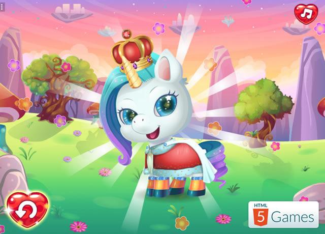 spiele cute unicorn care  kostenlose online spiele bei