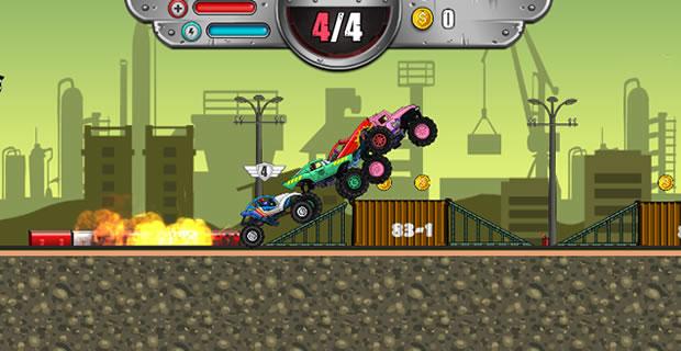 Monsters' Wheels 3