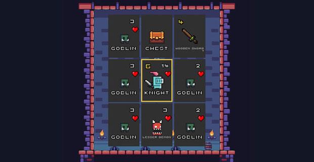 Pixel Card Crawl