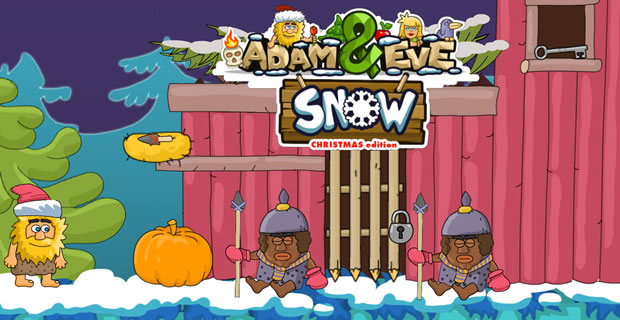Adam and Eve - Snow